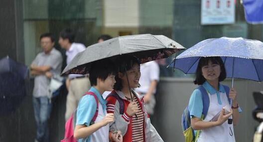 福州22日-24日中考期间多雨 考点为考生提供雨具