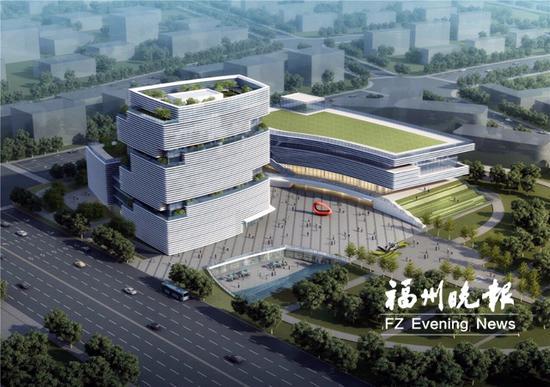 滨海新城将建福州第二工人文化宫