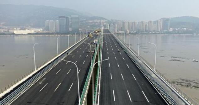 福州马尾大桥新年有了新名字 今后请叫三江口大桥