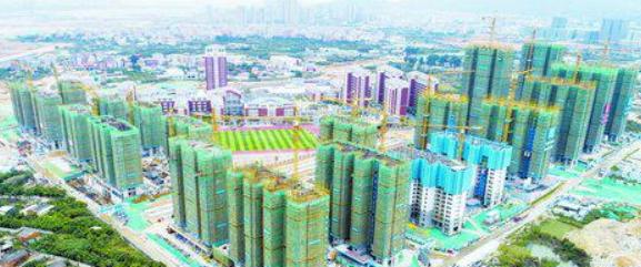 马銮湾保障房地铁社区首栋主楼封顶 2020年交付使用