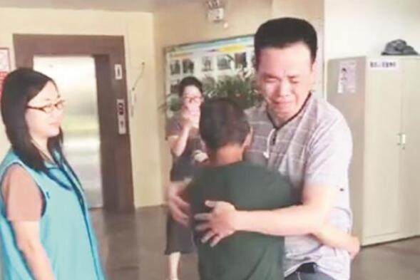 福州老人走失3年无音信 警务大数据助母子在泉州重逢