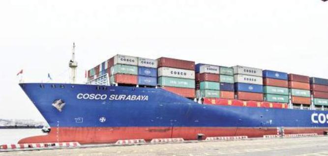 """""""丝路海运""""从厦门港首航 计划开行首批16条航线"""