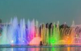 泉州:中秋游西湖公园 音乐喷泉一天两场来助兴