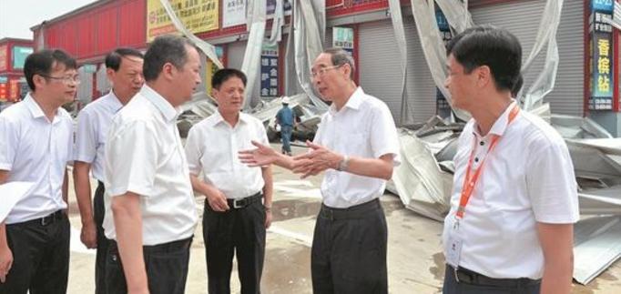 尤权赴厦漳泉察看灾情看望灾民 指导灾后恢复重建