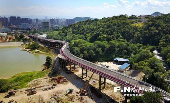 福州福飞北路新桥明天通车 去森林公园有新路可走