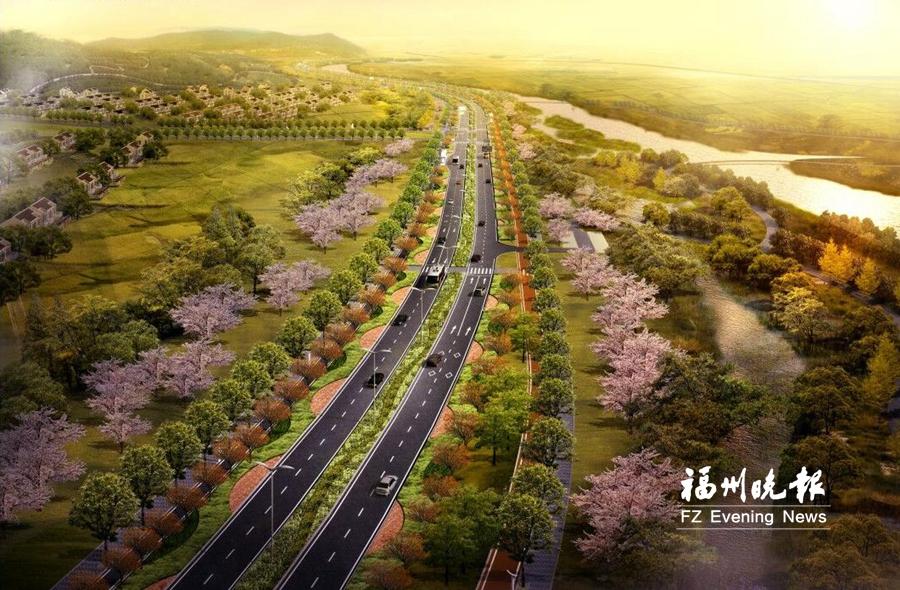 琅岐环岛路12月底全线贯通并通车 成全岛交通主环