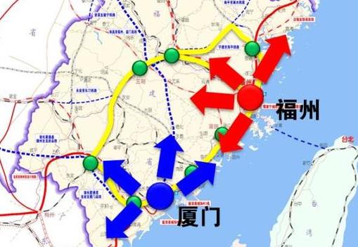 """福建省中长期铁路网最新规划出炉 形成""""三纵六横"""""""