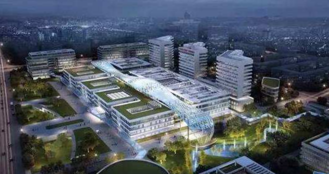 滨海新城综合医院正加快施工 医技楼明年4月封顶