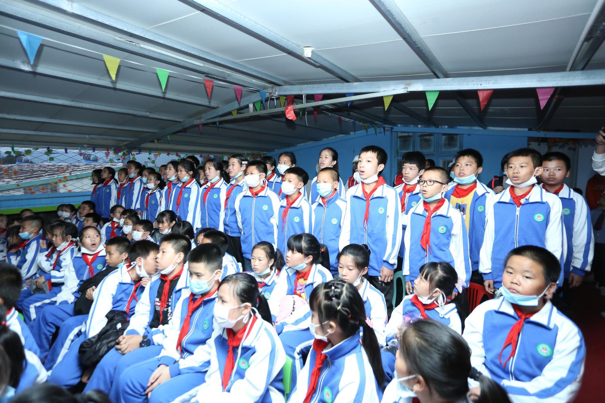 2020爱心捐助活动走进平和乡村小学