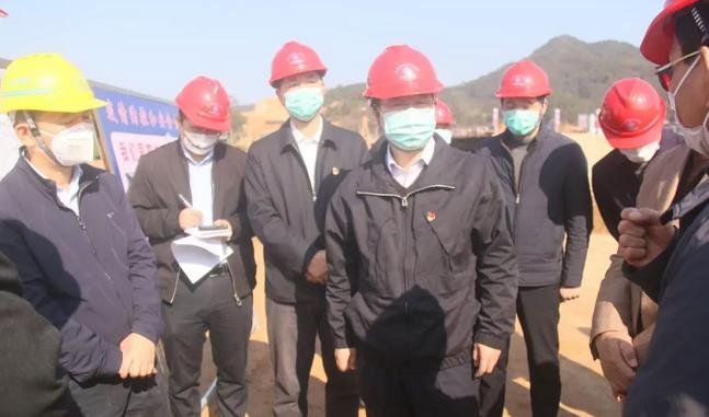 市长刘远到南靖县调研重点项目复工情况