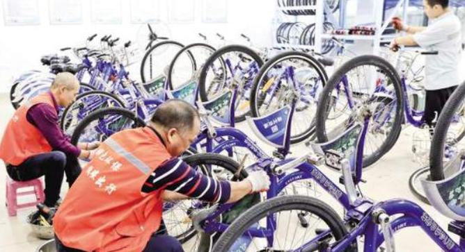 厦门公共自行车完成升级 今后终于可以扫码骑行了