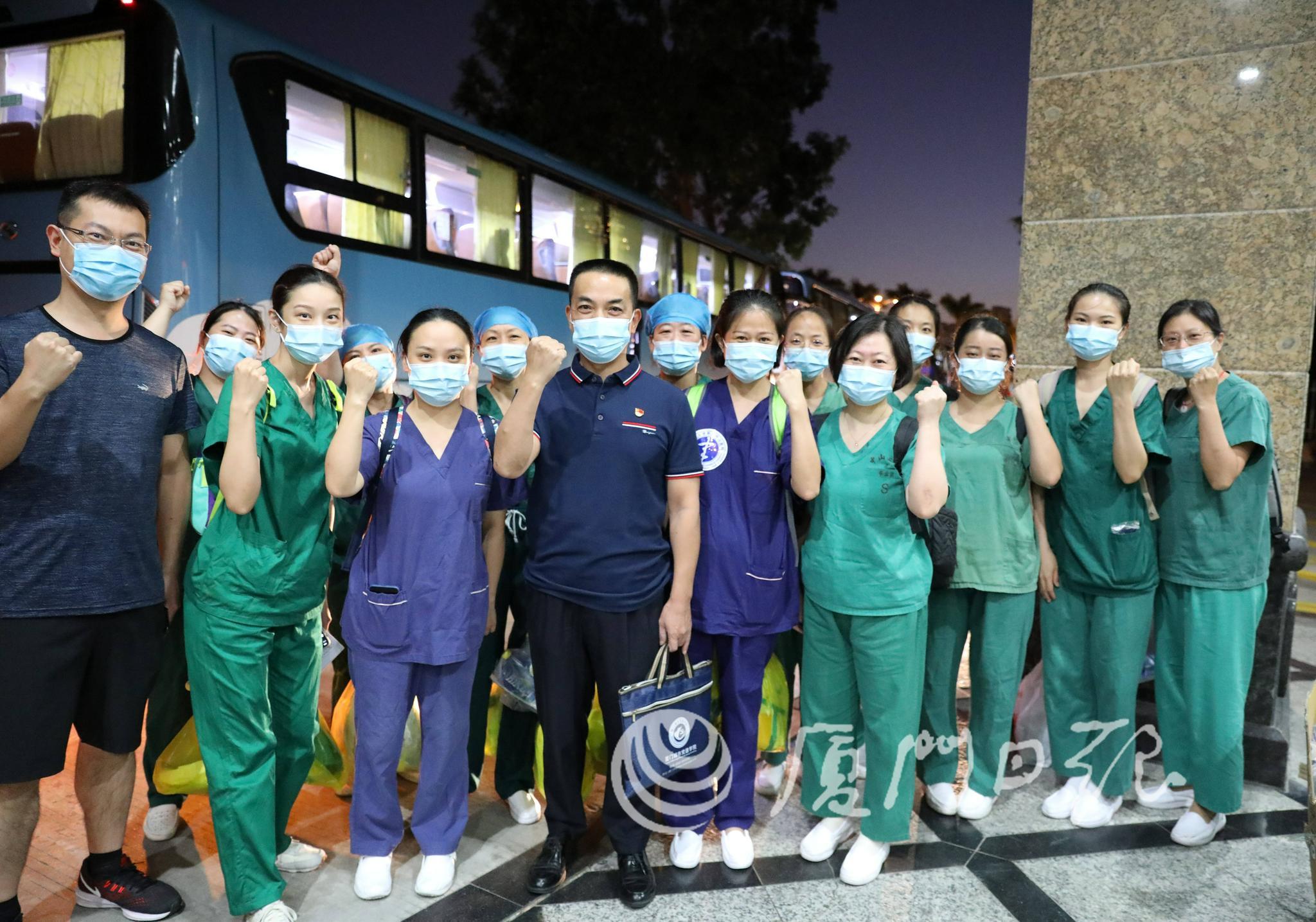 再次集结!1800余名医护人员支援同安新一轮核酸检测工作