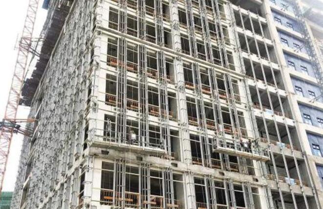 厦门软件园三期B地块全面封顶 预计今年年底竣工