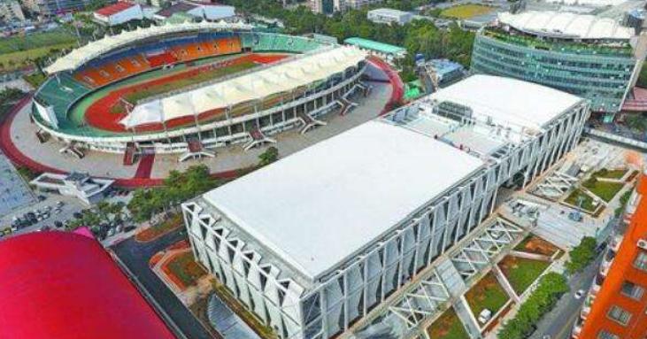 厦门市体育中心综合健身馆完工 明年将正式投用