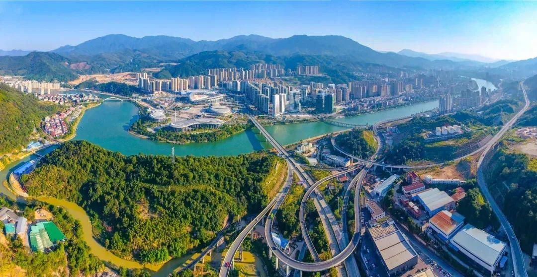 三明市中心城市规划路网基本建成