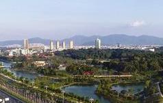 """漳州南湖""""彩虹飘带""""国庆前开放 上桥一览南江滨美景"""