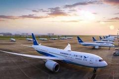 厦门飞马尼拉航班机场降落时冲出跑道 载有165人