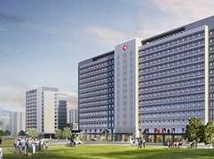 马銮湾医院雏形初现 预计2021年投用规划1500个床位