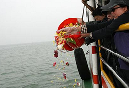 厦门5月25日将举行集体海葬 有意愿均可申请