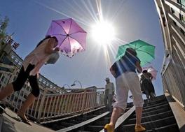 厦门周末最高温37℃ 海上3个热带气旋没一个能送雨水