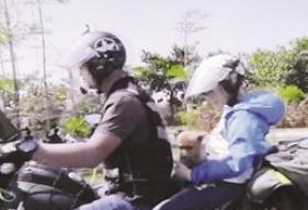 漳浦父子骑摩托跨越大半个中国 上央视讲述不一样的旅行