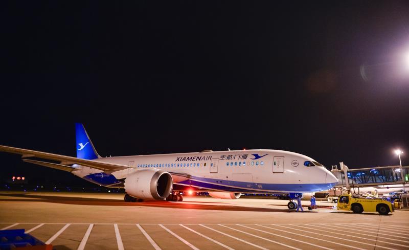 福州—巴黎直飞航线首航 系福建首条直飞法国航线