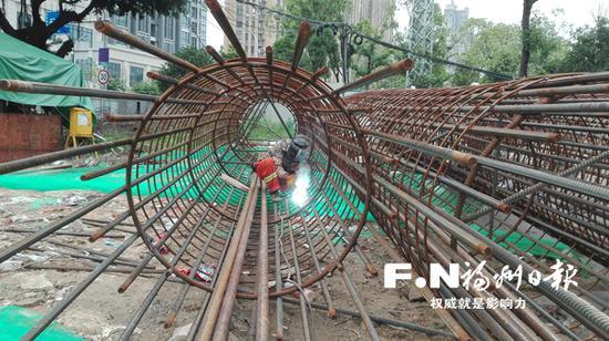 福州台江路网建设提速
