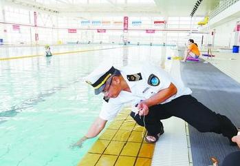 厦门泳池抽检合格率超八成 对不合格单位责令整改