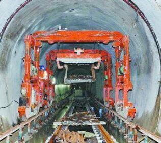 攻克过海隧道段 厦门地铁2号线力争年底开通试运营