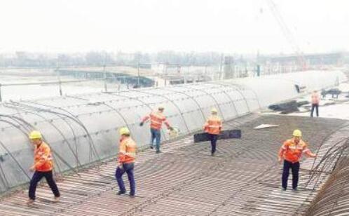 翔安机场快速路南段拟年底通车 目前已完成工程量85%