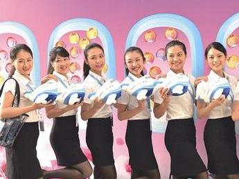 百位台湾萌妹子加盟厦航 从近4000人中脱颖而出