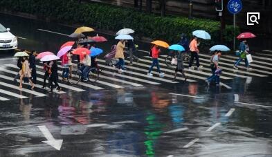 今起3天福州多阵雨 明起气温再攀升最高温达33℃