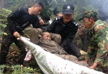 漳州台商区:八旬老人独自上山被困一天一夜获救