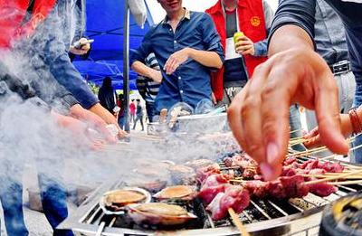 罗源县碧里乡举办下廪羊美食盛宴 山海搭配风味独特
