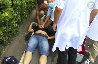 厦门一男子晨跑时心脏骤停 路人及时救助挽回生命