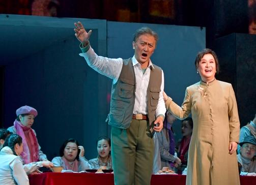 歌剧《命运》在福州首演 福州籍歌唱家饰演女主角