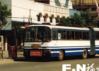 """福州公交师傅讲述""""大辫子""""无轨电车 见证半部公交史"""