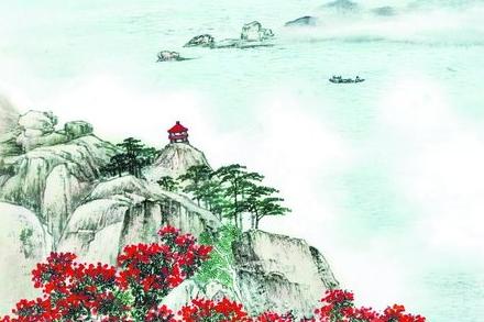 石进旺山水精品展开幕 画里的厦门走进北京恭王府