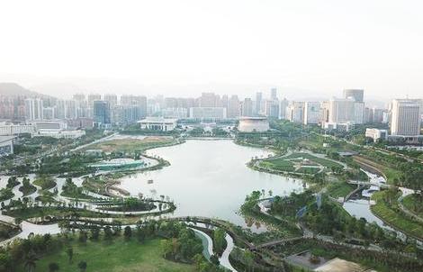 """龙岩龙津湖公园项目: 城市新""""会客厅"""""""