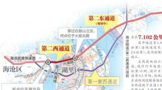 第二西通道国庆期间加速建设 工程计划2020年底完工