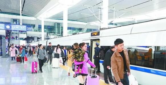 2019年春运首日 厦门铁路预计发送旅客7万多人次