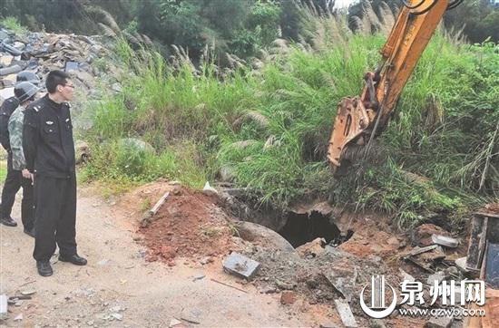 捣毁地下油库,取缔非法油罐车改装点。