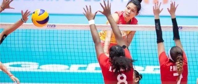 U18女排世少赛国少队小组突围 南靖16岁排球少女表现神勇