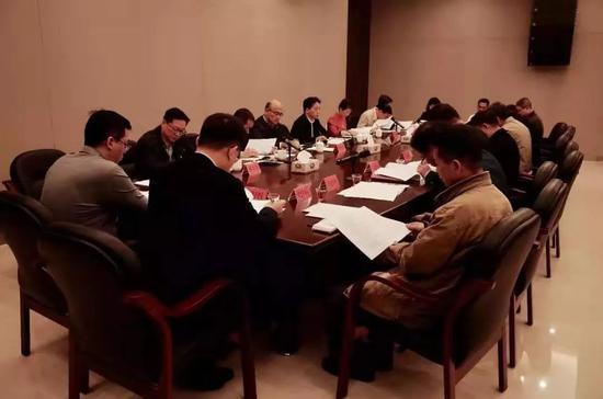 城管委专题会议