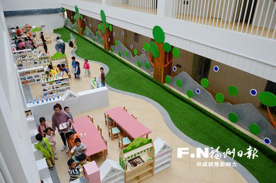 新投入使用的台江区第二实验幼儿园分园。