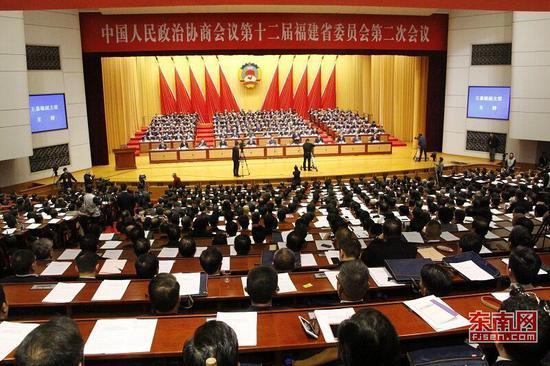 开幕式现场 东南网记者卢金福摄