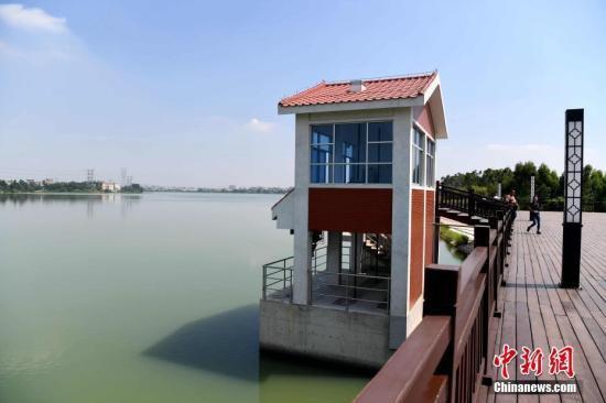 图为福建晋江龙湖水库。供水工程取水于晋江市龙湖镇的龙湖水源地。 张斌 摄