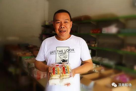 曾坤明 船场镇芳香糕饼店第三代传承人