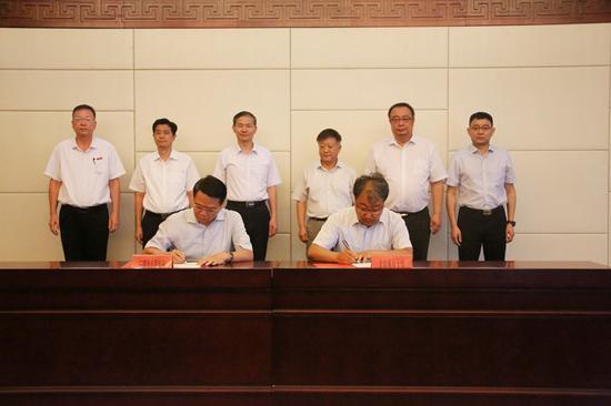 我市与北京林业大学签订合作框架协议