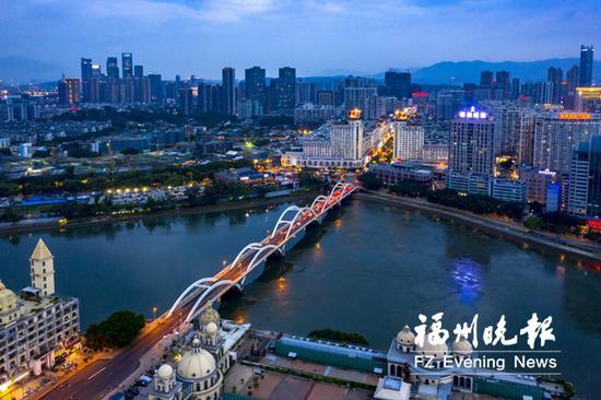 福州解放大桥明起封闭施工 采用环保工艺修复桥面病害